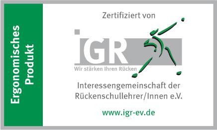 IGR-certificaat - Ergonomisch product